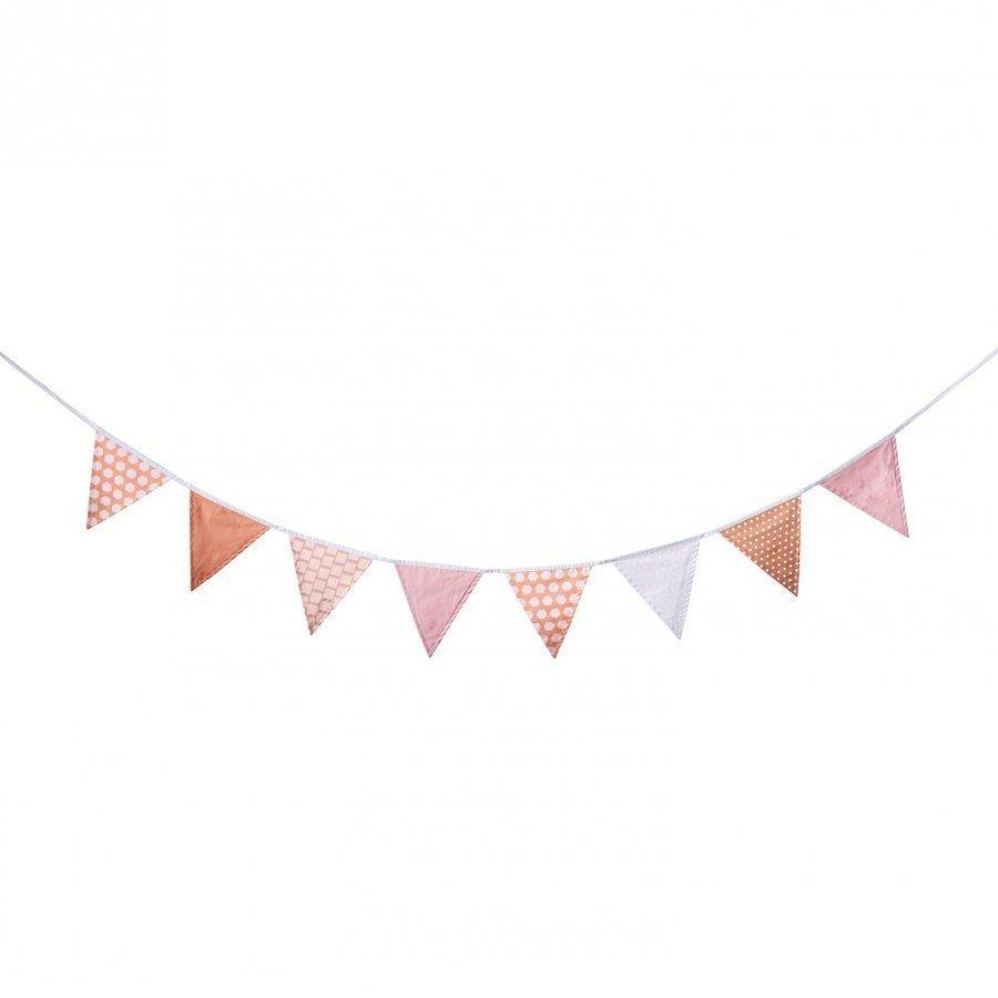 Kids Concept Flag Loop Edvin Pink Multi Koristelippu