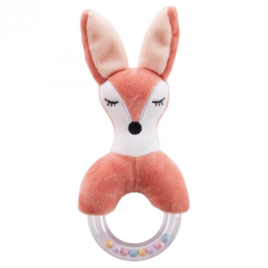 Kids Concept Fox Character Teething Rattle Purulelu
