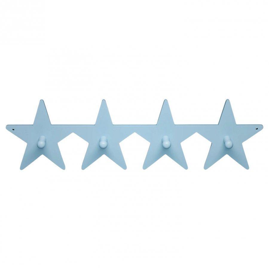 Kids Concept Hanger Star Blue Henkari