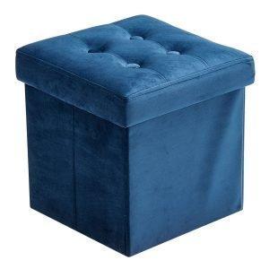 Kids Concept Istuintyyny Säilytyksellä Sininen