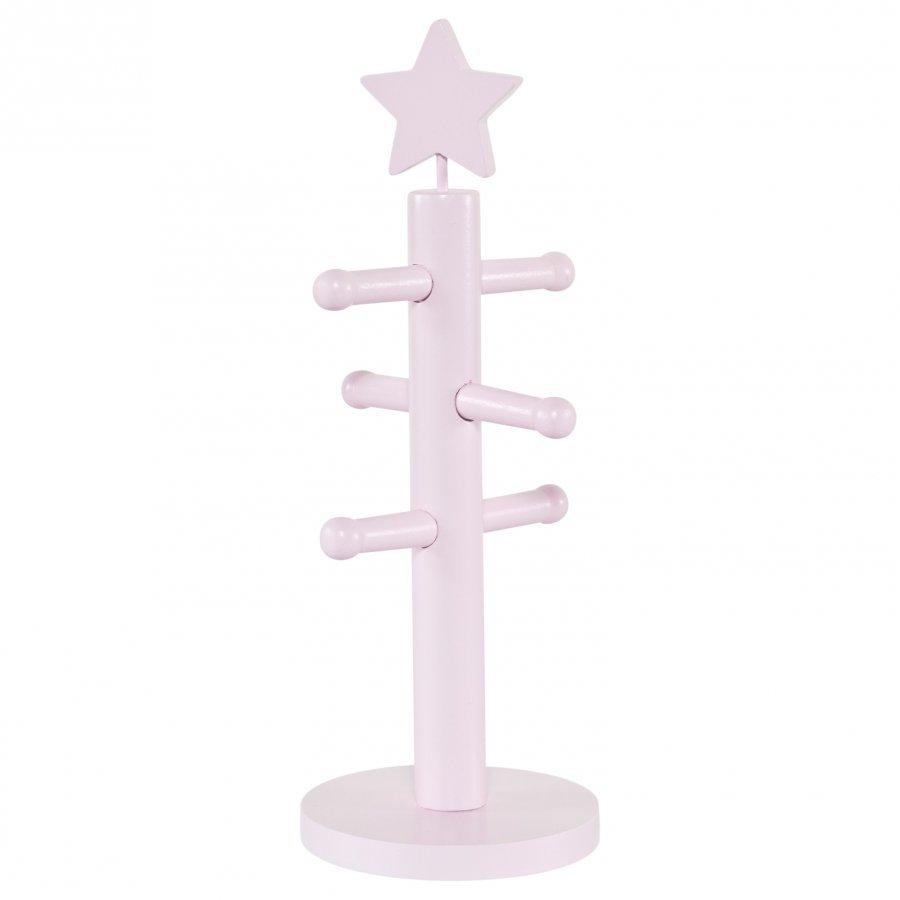 Kids Concept Jewellery Stand Star Pink Säilytyslaatikko