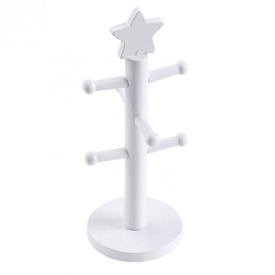 Kids Concept Jewellery Stand Star White Säilytyslaatikko