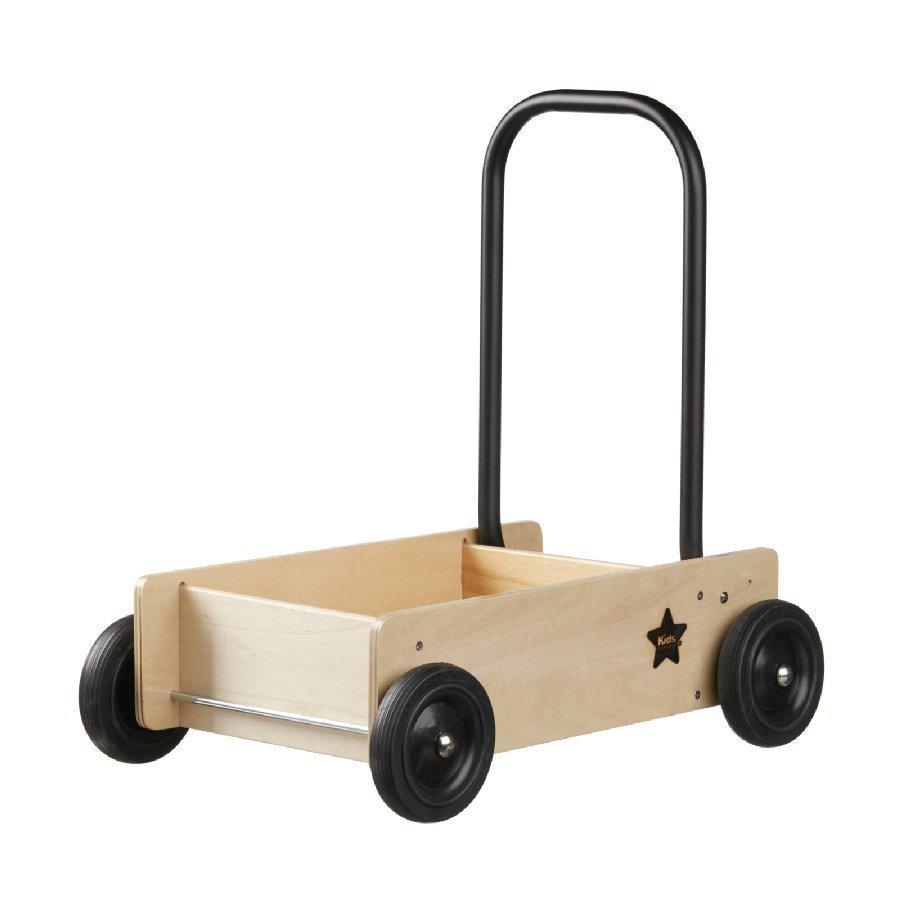 Kids Concept Kävelyvaunu Neo Jarrulla Luonnollinen