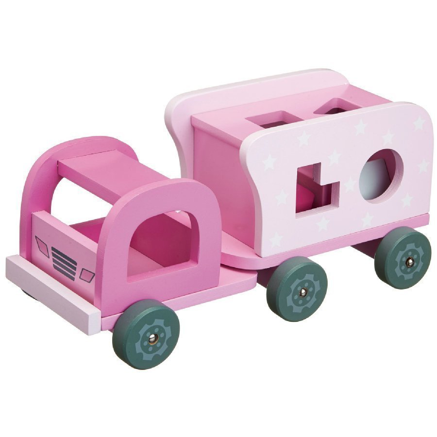 Kids Concept Kuorma Auto Star Vaaleanpunainen