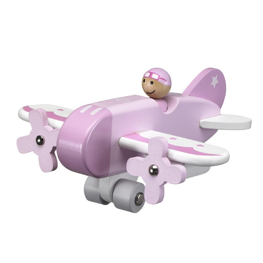Kids Concept Lentokone Vaaleanpunainen