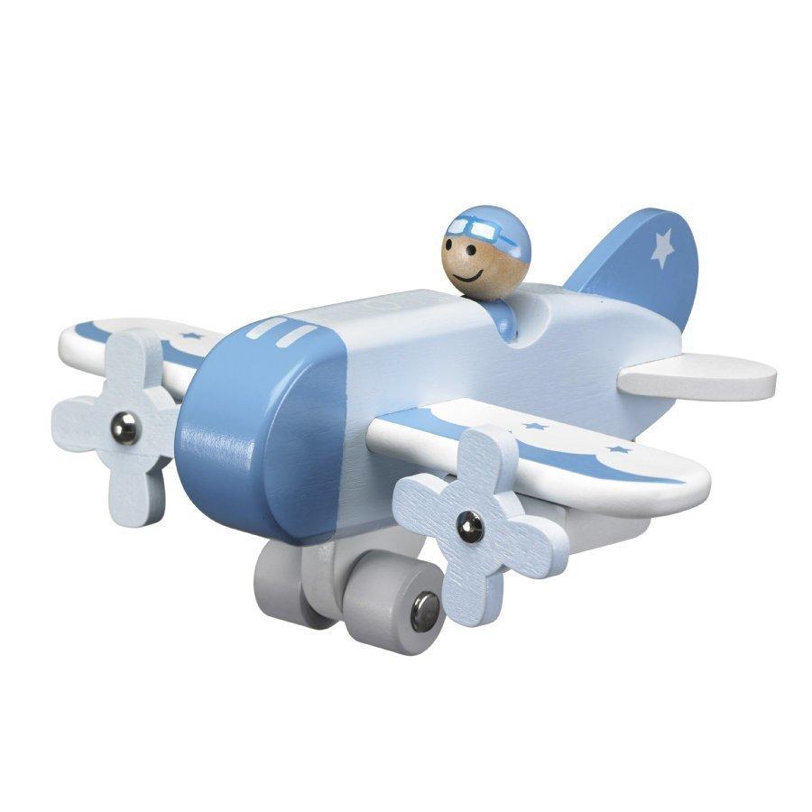 Kids Concept Lentokone Vaaleansininen