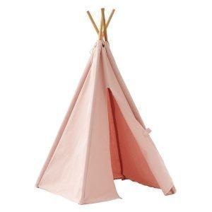 Kids Concept Mini Tiipii Teltta Vaaleanpunainen