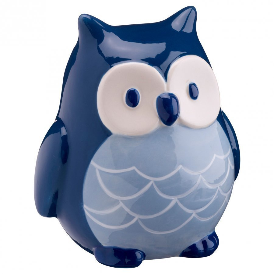 Kids Concept Money Bank Pumpkin Owl Blue Säilytyslaatikko