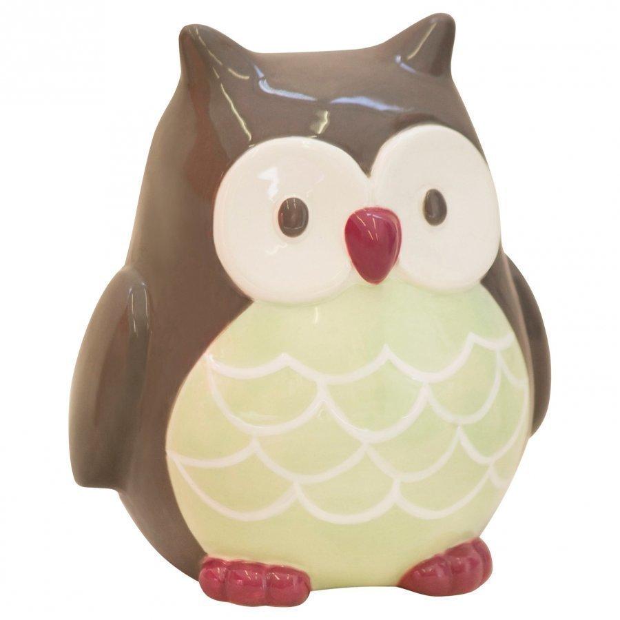 Kids Concept Money Box Owl Pumpkin Säilytyslaatikko