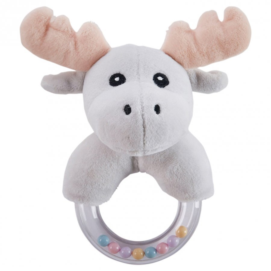 Kids Concept Moose Character Teething Rattle Purulelu