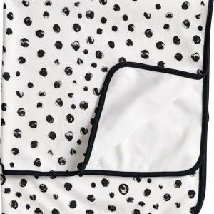 Kids Concept Neo Puuvillahuopa Musta/valkoinen