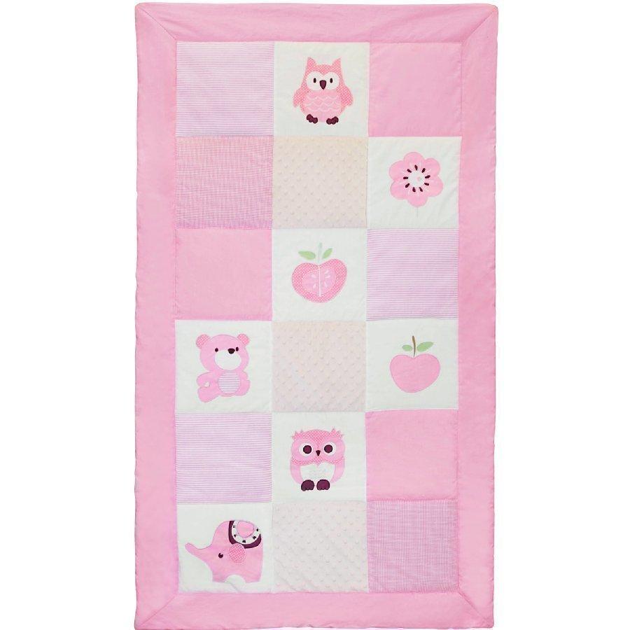 Kids Concept Päiväpeitto Pumpkin Vaaleanpunainen 144 X 82 Cm