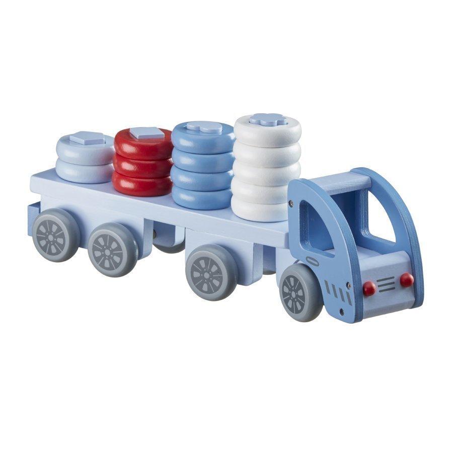 Kids Concept Pujotuspeli Kuorma Auto Sininen