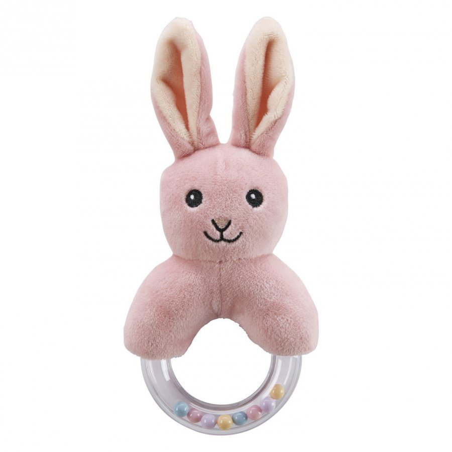 Kids Concept Rabbit Character Teething Rattle Purulelu