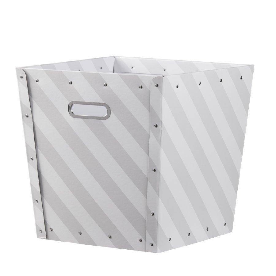 Kids Concept Säilytyslaatikko Rand Harmaa / Valkoinen