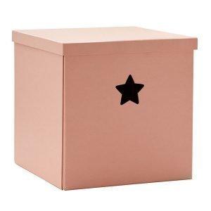 Kids Concept Säilytyslaatikko Vaaleanpunainen