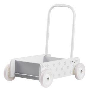 Kids Concept Star Kävelyvaunu Valkoinen / Harmaa