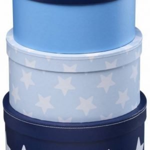 Kids Concept Star Pahvirasiat 3 kpl Sininen
