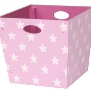 Kids Concept Star Säilytyslaatikko Vaaleanpunainen