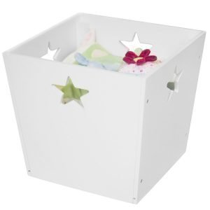 Kids Concept Star Säilytyslaatikko Valkoinen