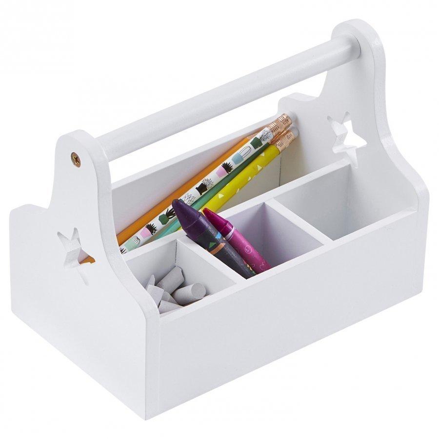 Kids Concept Star Storage Box White Säilytyslaatikko