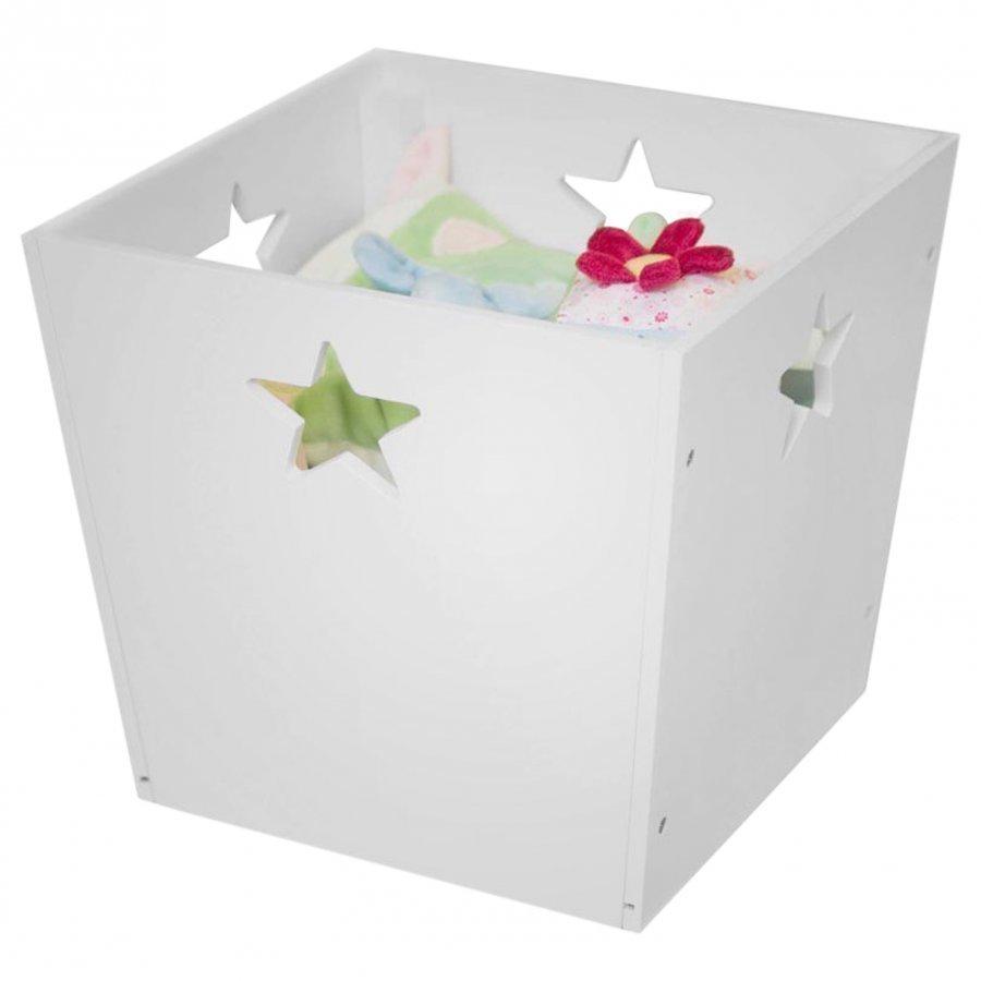 Kids Concept Storage Box Star White Säilytyslaatikko