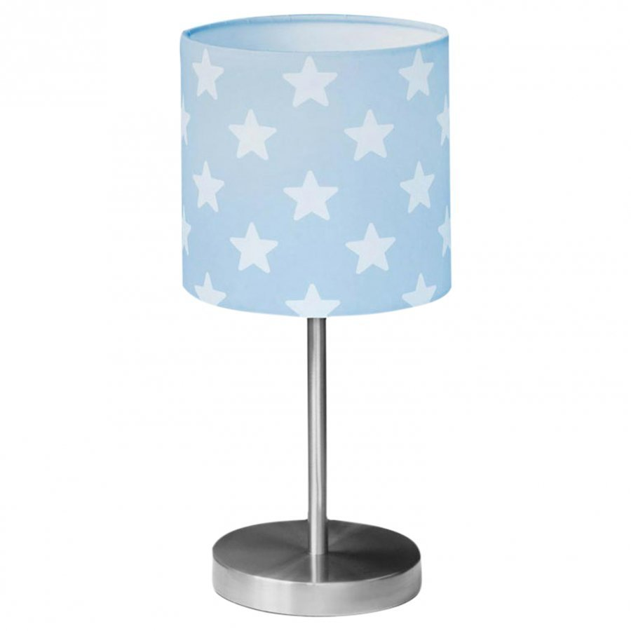 Kids Concept Table Lamp Star Blue/White Pöytävalaisin