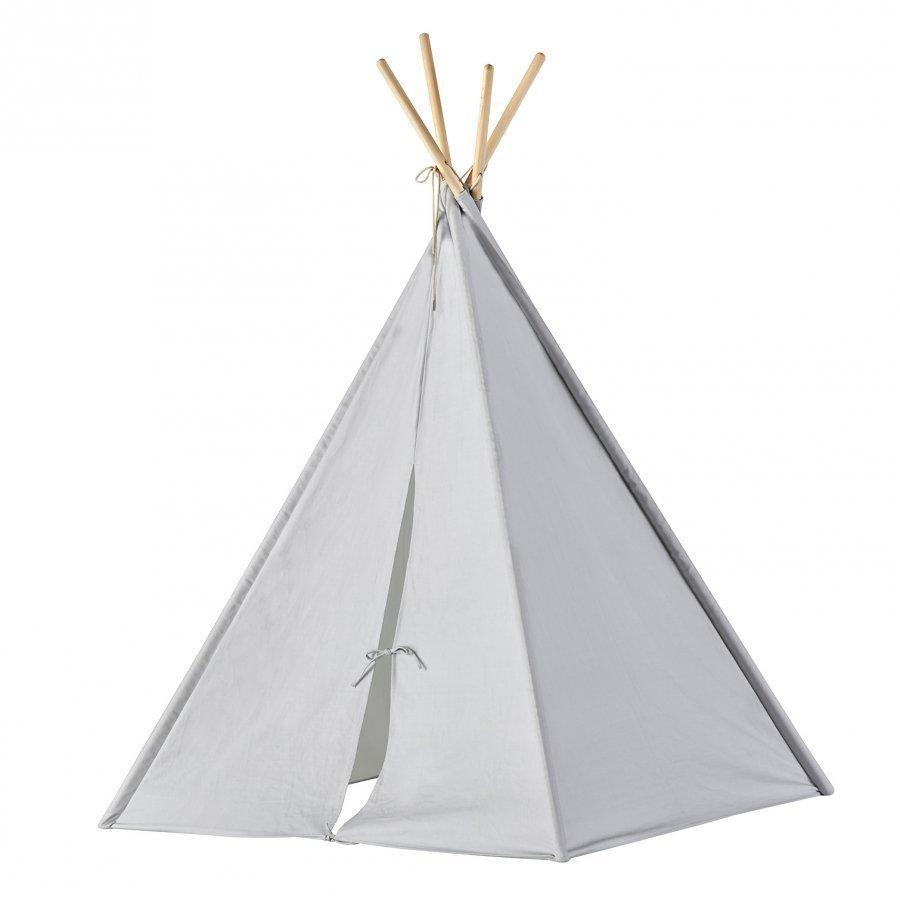 Kids Concept Tipi Tent Grey Leikkiteltta