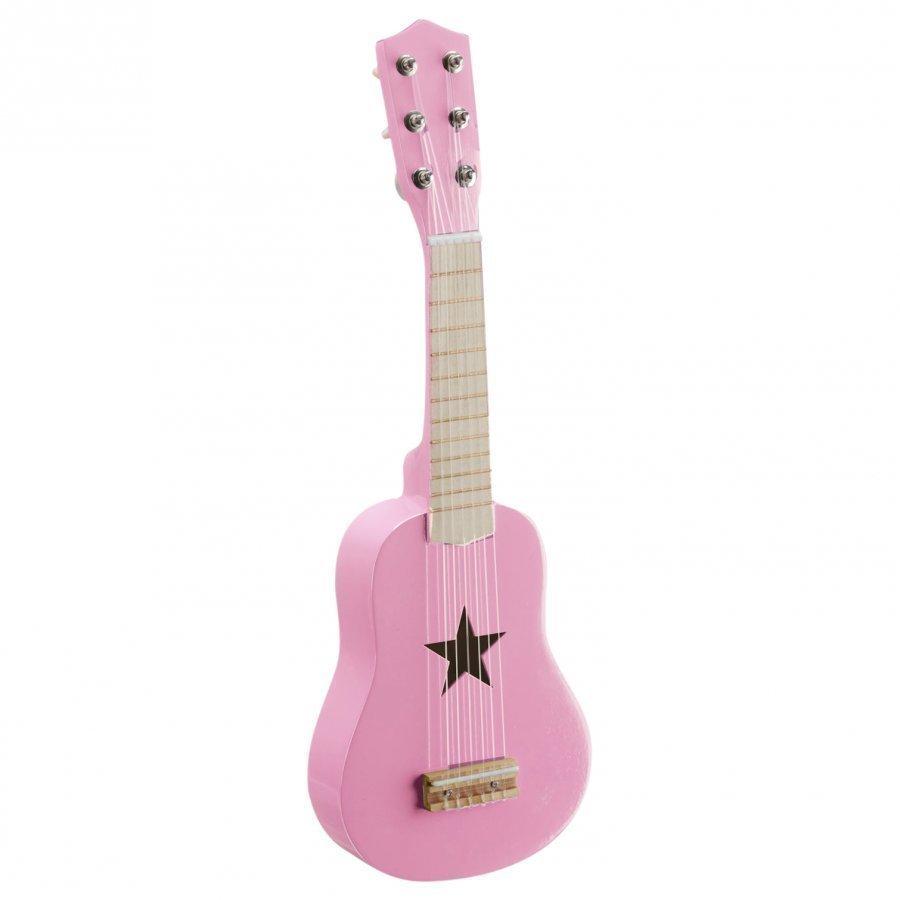 Kids Concept Toy Guitar Pink Kitara