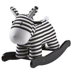 Kids Concept Zebra Keinuhevonen