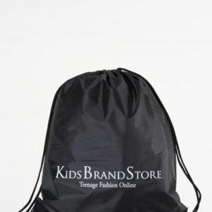 Kidsbrandstore Gym Bag Laukku Musta