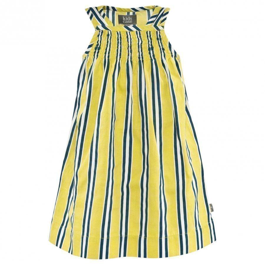Kidscase Candy Organic Baby Dress Yellow Print Mekko