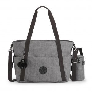 Kipling Little Heart Vauvalaukku Cotton Grey