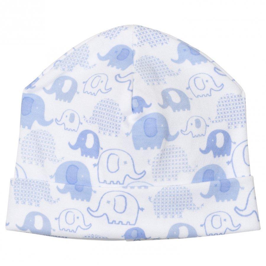 Kissy Kissy Blue Elephant Print Hat Pipo