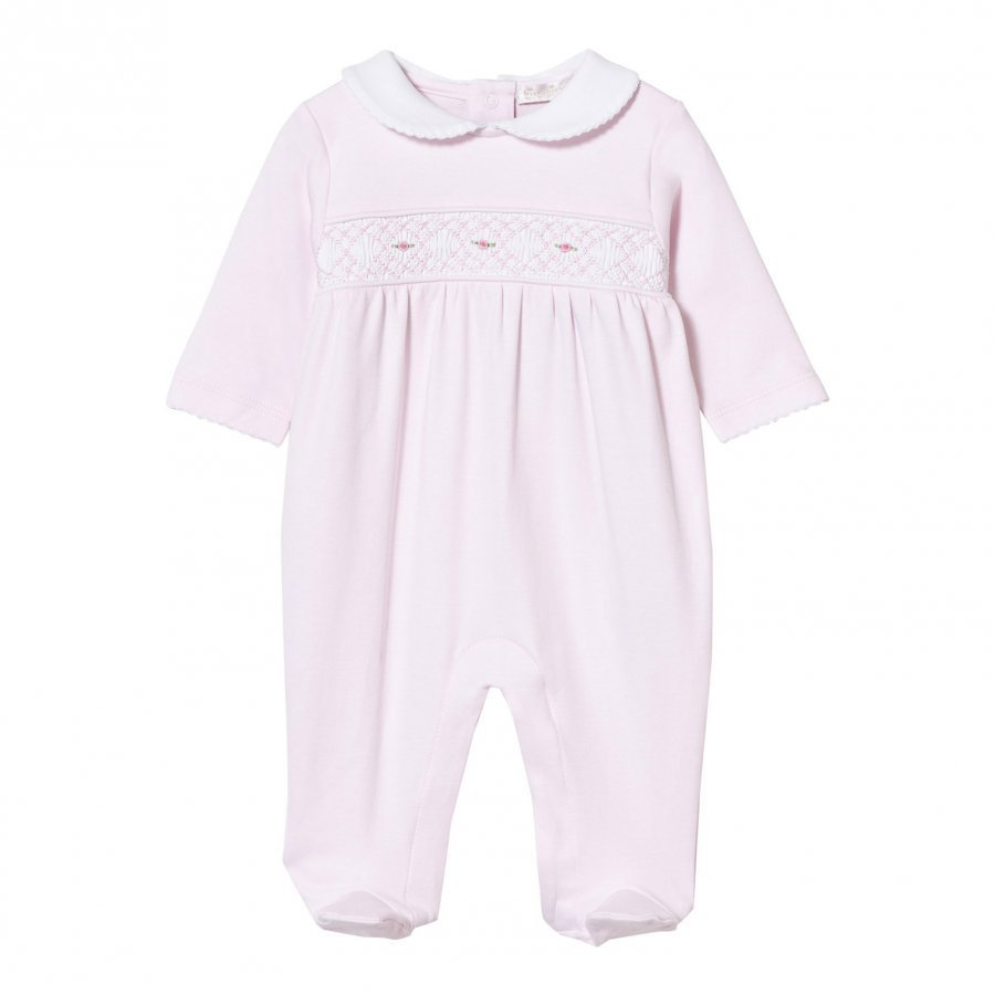 Kissy Kissy Footed Baby Body Collared Pink Body