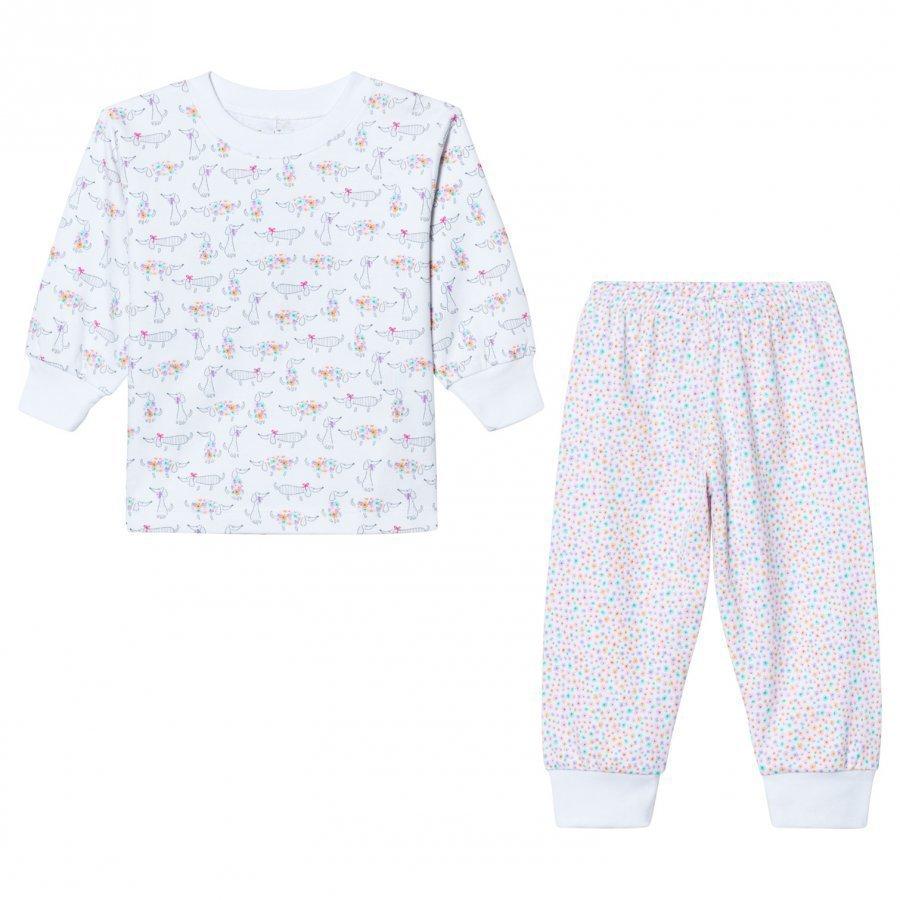 Kissy Kissy Pink Dachshunds Print Pyjamas Yöpuku