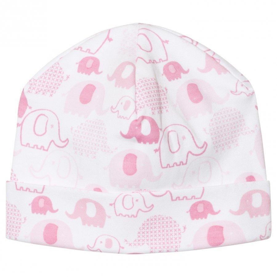 Kissy Kissy Pink Elephant Print Hat Pipo