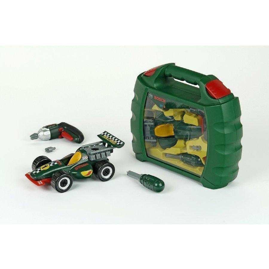 Klein Bosch Formula 1 Työkalulaukku + Ixolino Ruuvinväännin