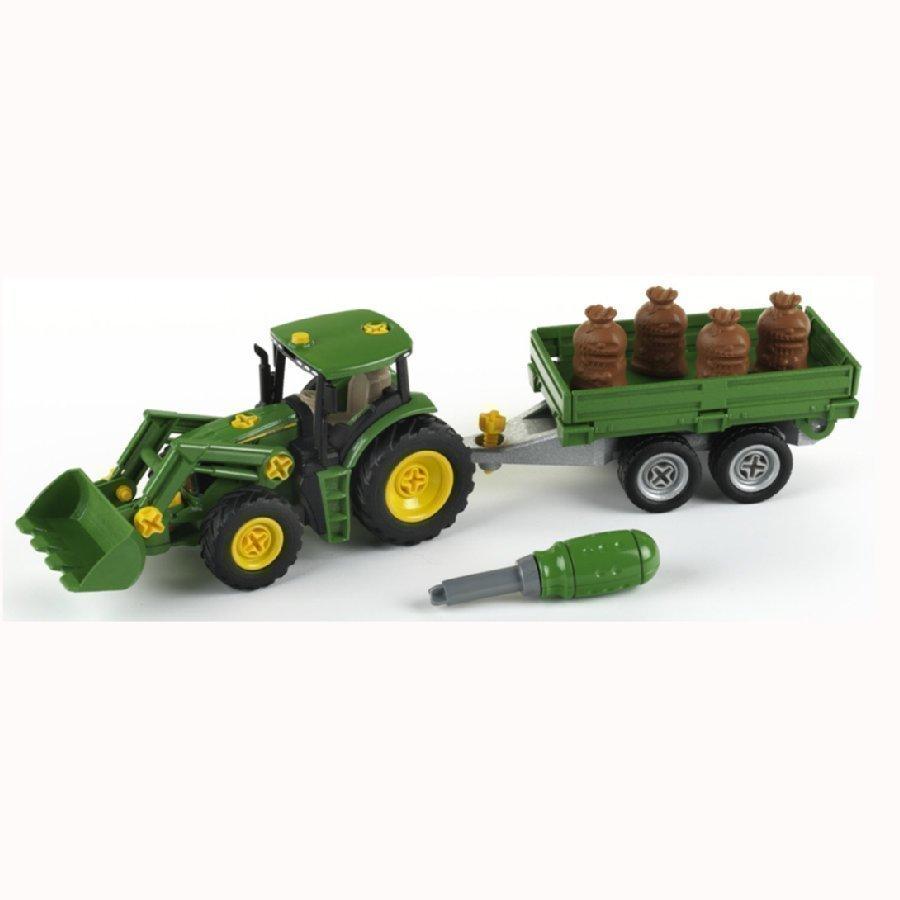 Klein John Deere Traktori + Peräkärry