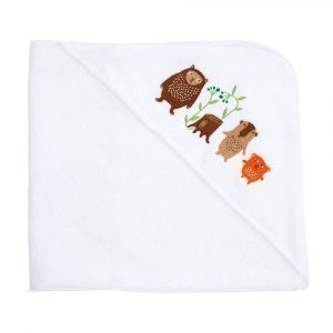 Klippan Yllefabrik Little Bear Hupullinen Pyyhe