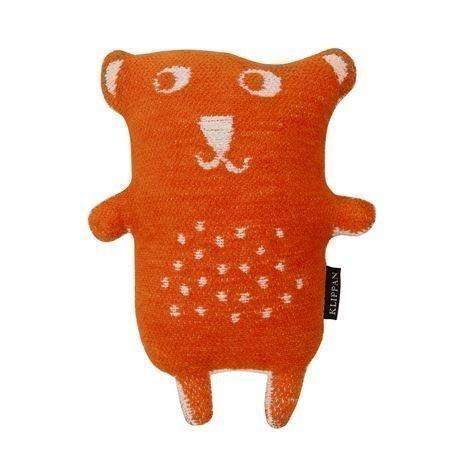 Klippan Yllefabrik Little Bear Pehmolelu Oranssi