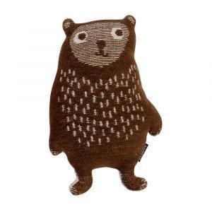 Klippan Yllefabrik Little Bear Ruskea
