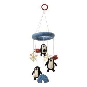 Klippan Yllefabrik Penguin Mobile Musta