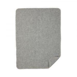 Klippan Yllefabrik Soft Wool Baby Huopa Harmaa 65x90 Cm