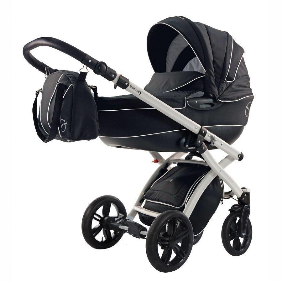 Knorr Baby Alive Born To Ride Musta Yhdistelmävaunut