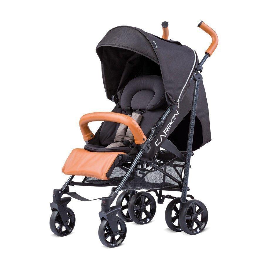 Knorr Baby Carbon Art Musta Ruskea Matkarattaat