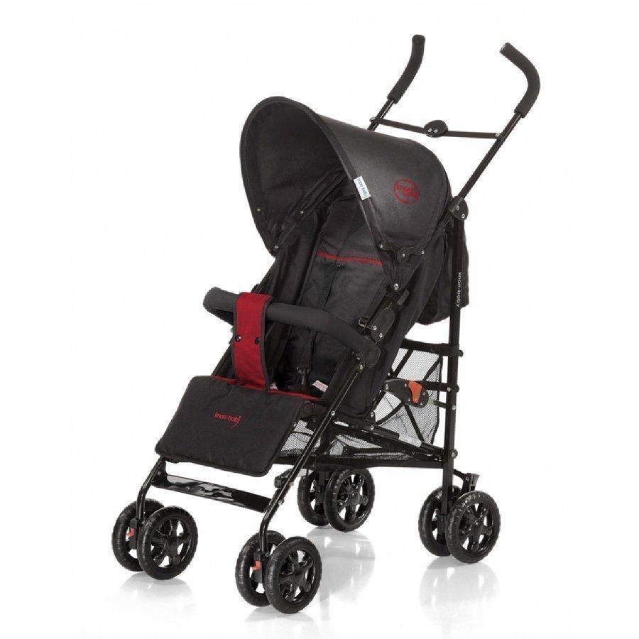 Knorr Baby Commo Sport Musta / Punainen Matkarattaat