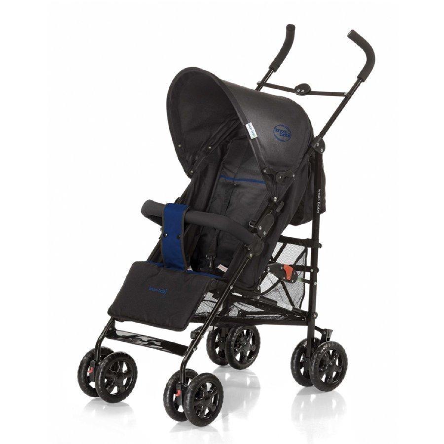 Knorr Baby Commo Sport Musta / Sininen Matkarattaat