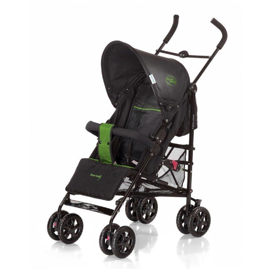 Knorr Baby Commo Sport Musta / Vihreä Matkarattaat