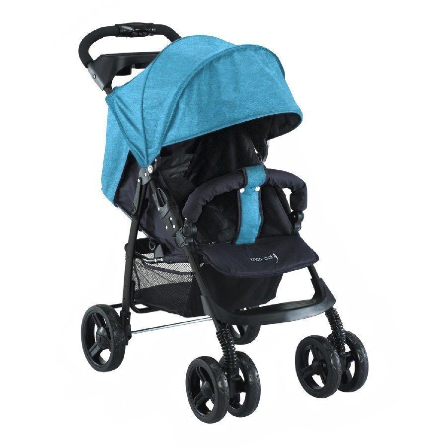 Knorr Baby V Easy Fold Melange Sininen Matkarattaat